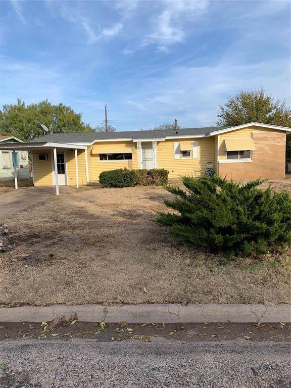 401 Lancaster Drive, Abilene, TX 79601 (MLS #14227722) :: Ann Carr Real Estate