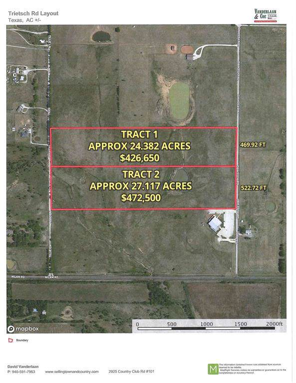 Tract 2 Trietsch Road, Sanger, TX 76266 (MLS #14228206) :: All Cities Realty