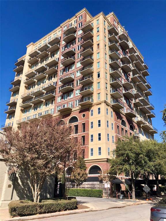 4611 Travis Street 807A, Dallas, TX 75205 (MLS #14228254) :: The Kimberly Davis Group