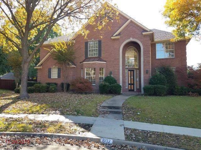 602 Sabine Court, Allen, TX 75013 (MLS #14230672) :: The Rhodes Team