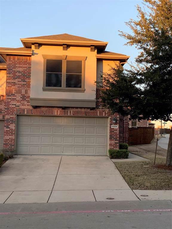 1004 Lucy Lane, Allen, TX 75013 (MLS #14237279) :: Tenesha Lusk Realty Group