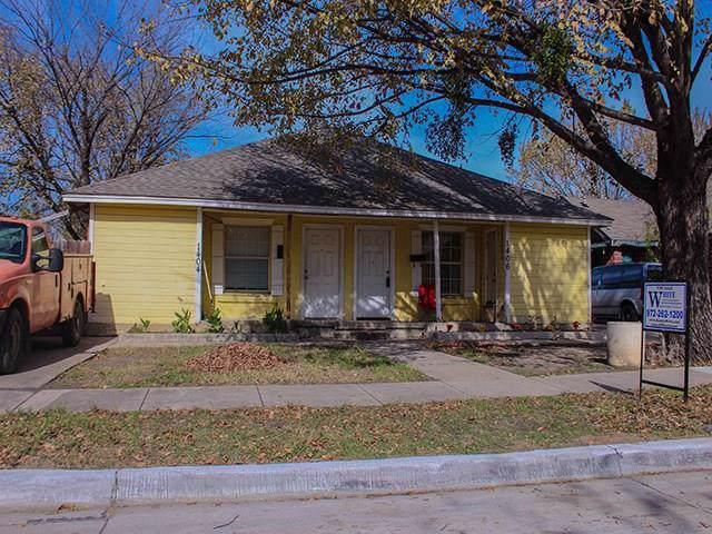 1404 Hickory Street, Grand Prairie, TX 75050 (MLS #14237567) :: Team Hodnett