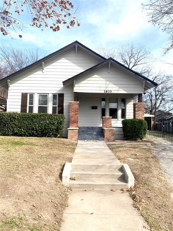2822 Lee Avenue, Fort Worth, TX 76106 (MLS #14238975) :: Tenesha Lusk Realty Group
