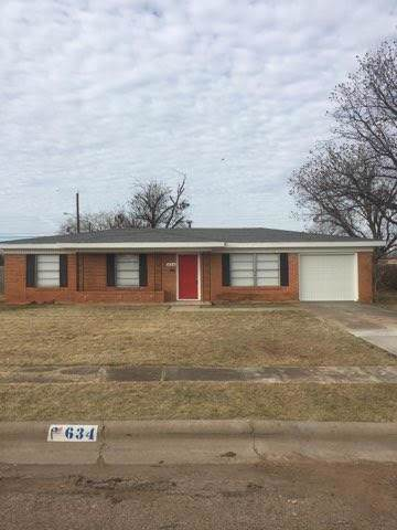 634 S Jefferson Drive, Abilene, TX 79605 (MLS #14239576) :: RE/MAX Town & Country