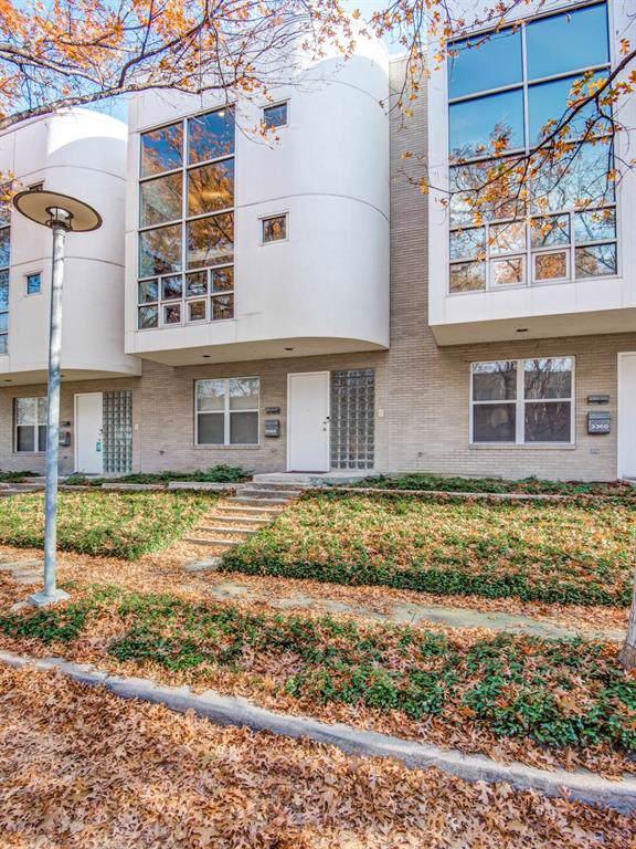 3364 Miro Place, Dallas, TX 75204 (MLS #14240185) :: Ann Carr Real Estate