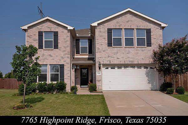 7765 Highpoint Ridge, Frisco, TX 75035 (MLS #14258088) :: RE/MAX Town & Country