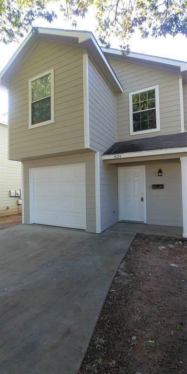404 N Cleveland Avenue, Sherman, TX 75090 (MLS #14265682) :: The Good Home Team