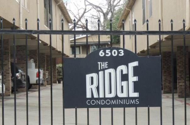 6503 Ridgecrest Road #101, Dallas, TX 75231 (MLS #14269310) :: Caine Premier Properties