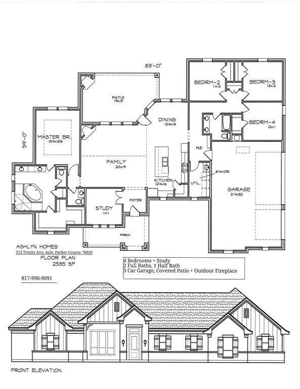 313 Trinity Avenue, Azle, TX 76020 (MLS #14270315) :: RE/MAX Pinnacle Group REALTORS
