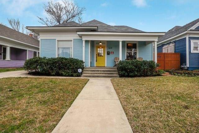 1619 College Avenue, Fort Worth, TX 76104 (MLS #14274958) :: Caine Premier Properties