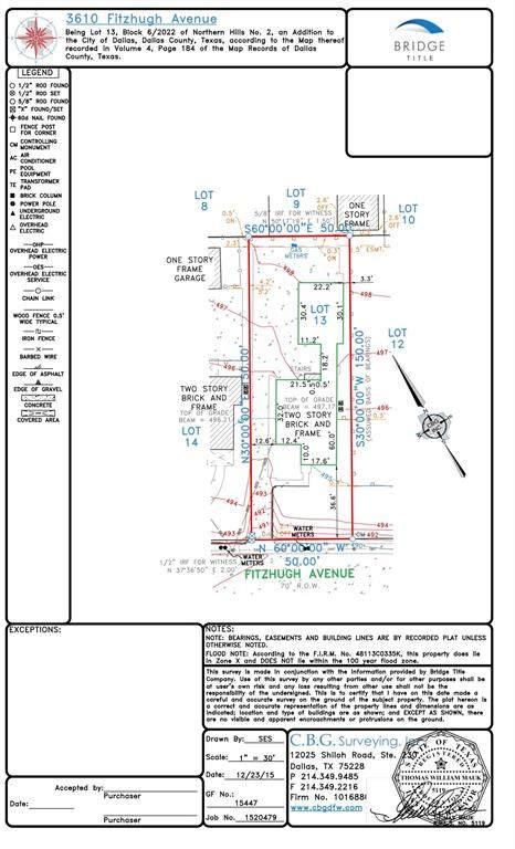 3610 N Fitzhugh Avenue, Dallas, TX 75204 (MLS #14275349) :: RE/MAX Pinnacle Group REALTORS