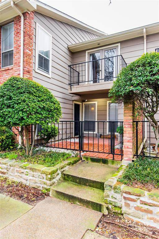 7510 Holly Hill Drive #121, Dallas, TX 75231 (MLS #14275914) :: Caine Premier Properties