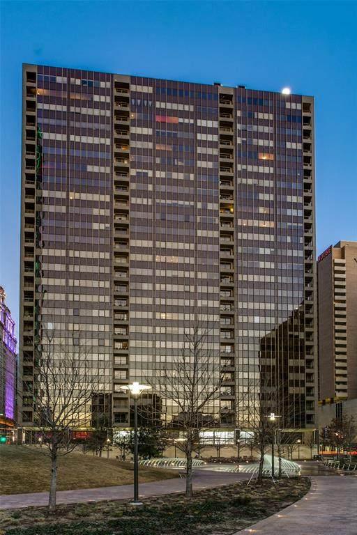 1200 Main Street #2510, Dallas, TX 75202 (MLS #14276777) :: Caine Premier Properties