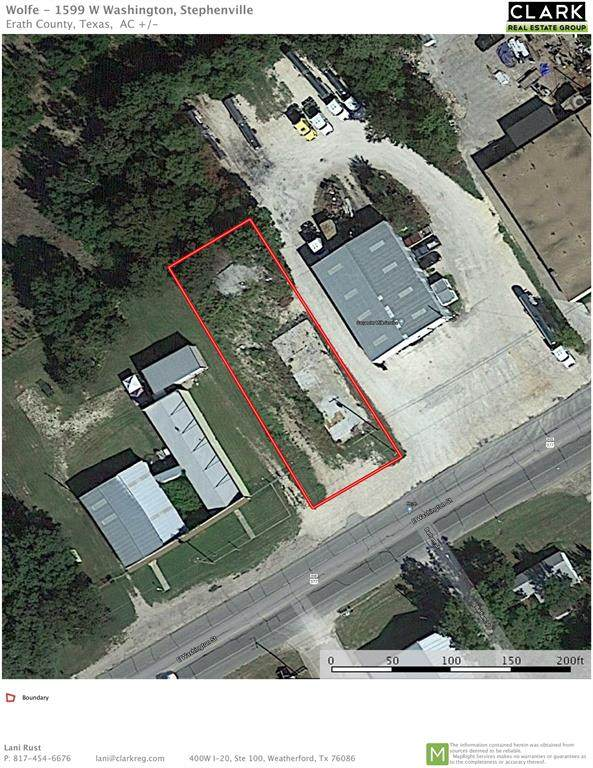 1599 E Washington Street, Stephenville, TX 76401 (MLS #14277788) :: The Chad Smith Team