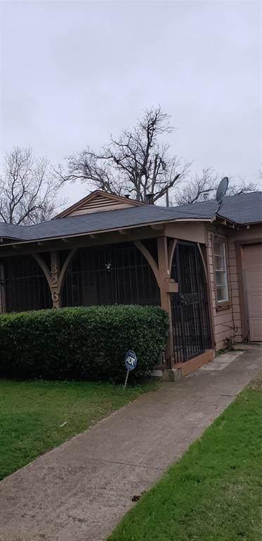 3262 Todd Avenue, Fort Worth, TX 76110 (MLS #14278334) :: Trinity Premier Properties