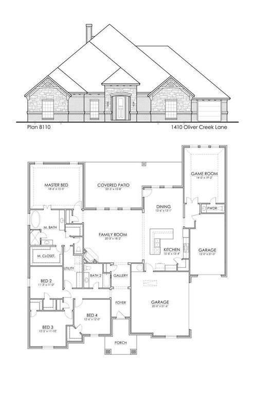 1410 Oliver Creek, Justin, TX 76247 (MLS #14288543) :: Trinity Premier Properties