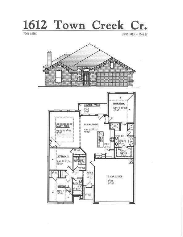 1612 Town Creek Circle, Weatherford, TX 76086 (MLS #14289032) :: Potts Realty Group