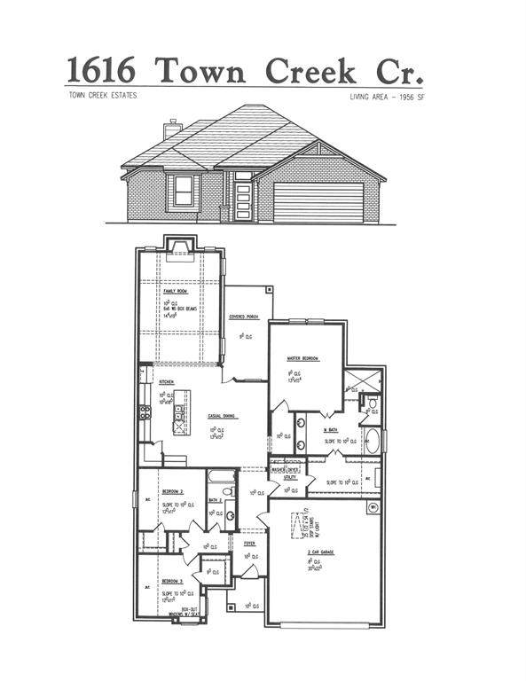 1616 Town Creek Circle, Weatherford, TX 76086 (MLS #14289061) :: Potts Realty Group