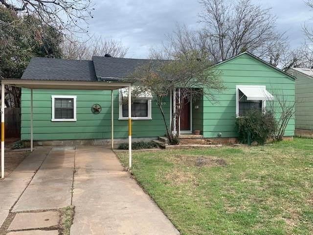 1549 Burger Street, Abilene, TX 79603 (MLS #14296810) :: The Chad Smith Team
