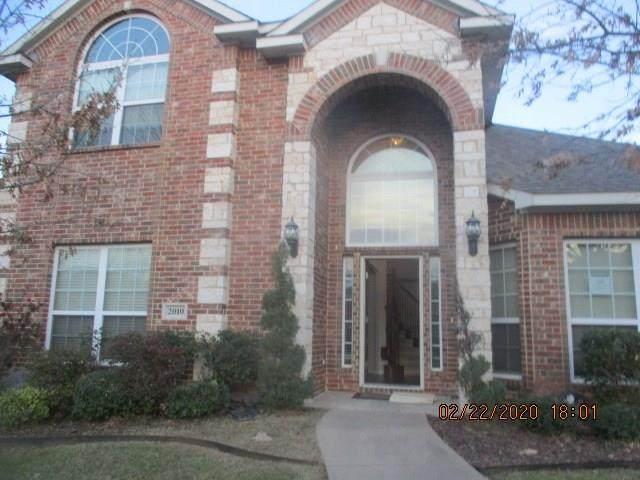2010 Gardenridge Drive, Glenn Heights, TX 75154 (MLS #14304827) :: The Hornburg Real Estate Group