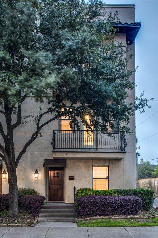 1016 Liberty Street #1, Dallas, TX 75204 (MLS #14311764) :: Vibrant Real Estate