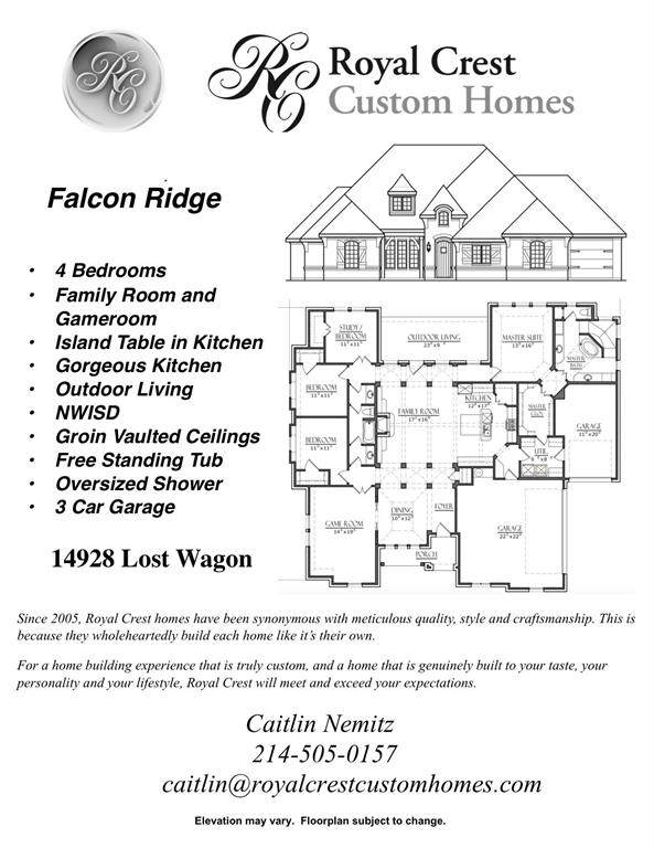 14928 Lost Wagon Drive, New Fairview, TX 76247 (MLS #14314054) :: All Cities USA Realty