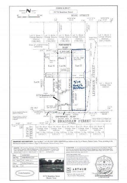 519 N Bradshaw Street, Denton, TX 76209 (MLS #14314726) :: The Hornburg Real Estate Group