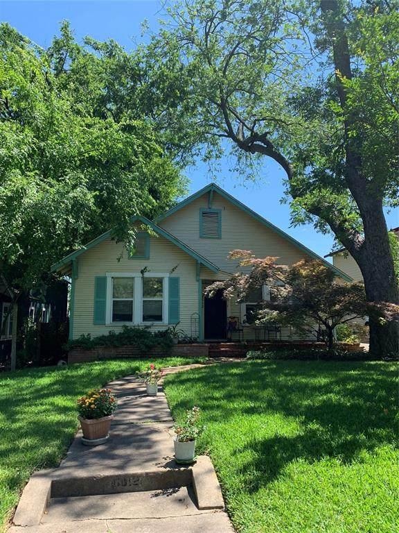 6012 Goliad Avenue, Dallas, TX 75206 (MLS #14344521) :: Baldree Home Team
