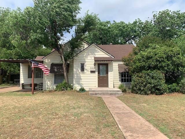 1918 Chestnut Street, Abilene, TX 79602 (MLS #14350029) :: Robbins Real Estate Group
