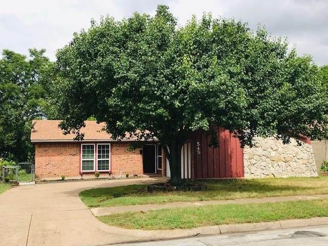 543 Falling Leaves Drive, Duncanville, TX 75116 (MLS #14351511) :: Tenesha Lusk Realty Group