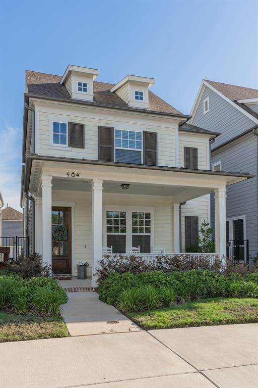 464 Burns Street, Coppell, TX 75019 (MLS #14351640) :: Hargrove Realty Group