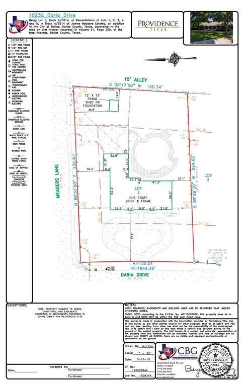 10232 Daria Drive, Dallas, TX 75229 (MLS #14352122) :: North Texas Team | RE/MAX Lifestyle Property