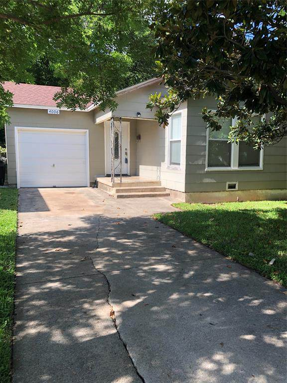 4006 Curzon Avenue, Fort Worth, TX 76107 (MLS #14354010) :: The Heyl Group at Keller Williams