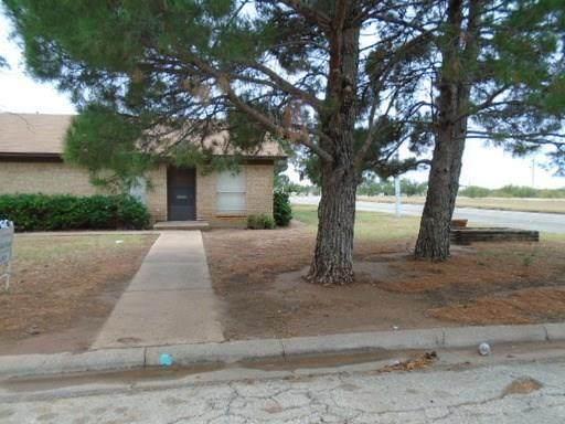 702 Hawn Circle, Abilene, TX 79605 (MLS #14355716) :: Post Oak Realty