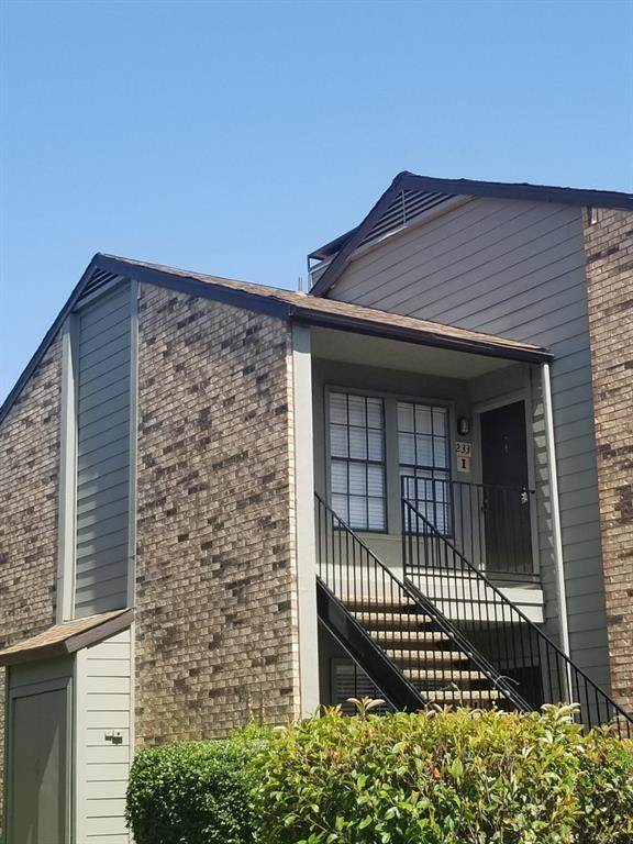 5335 Bent Tree Forest Drive #233, Dallas, TX 75248 (MLS #14360906) :: Front Real Estate Co.
