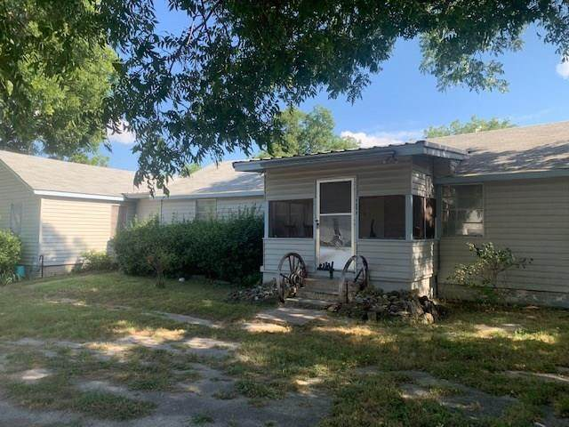 201 W Avenue A, Hico, TX 76457 (MLS #14367537) :: Justin Bassett Realty