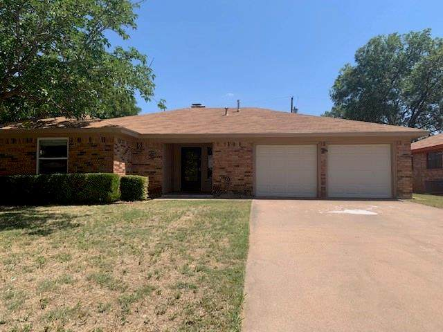 5301 Burbank Drive, Abilene, TX 79605 (MLS #14369012) :: The Heyl Group at Keller Williams