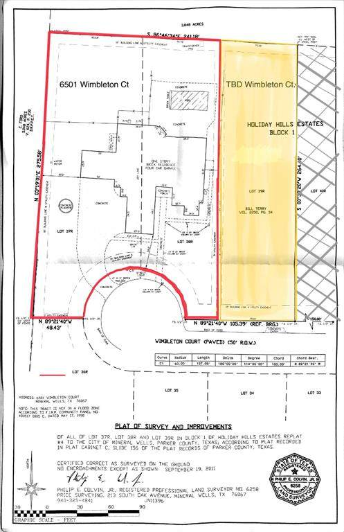 6501 Wimbleton Court, Mineral Wells, TX 76067 (MLS #14376336) :: Team Hodnett