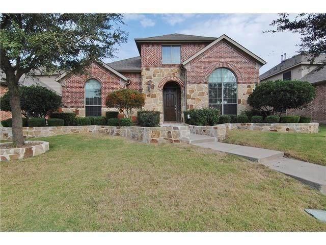 6072 Wallis Drive, Frisco, TX 75033 (MLS #14380659) :: Trinity Premier Properties