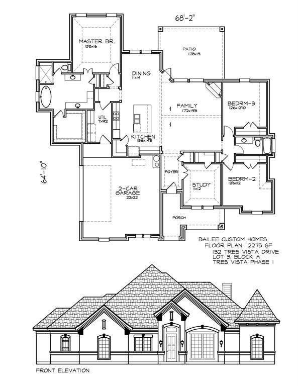 132 Tres Vista, Decatur, TX 76234 (MLS #14384434) :: The Good Home Team