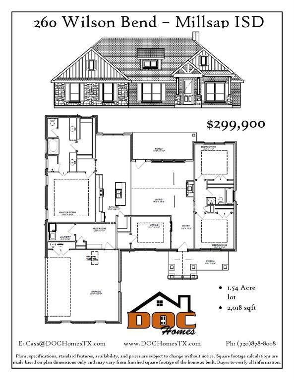 260 Wilson Bend, Millsap, TX 76066 (MLS #14386602) :: Hargrove Realty Group