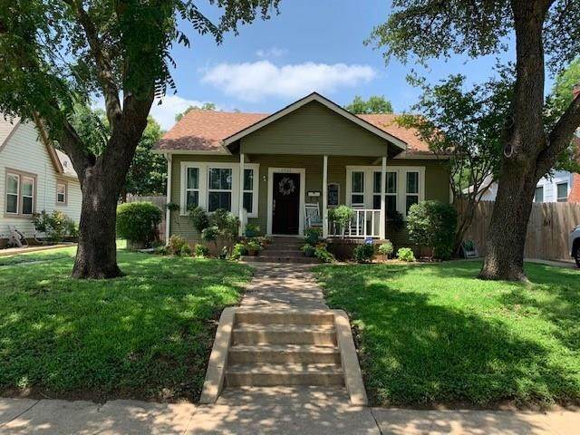 4724 Calmont Avenue, Fort Worth, TX 76107 (MLS #14391734) :: Frankie Arthur Real Estate