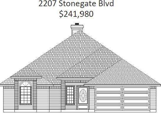 2207 Stonegate Boulevard, Bridgeport, TX 76426 (MLS #14396479) :: The Heyl Group at Keller Williams