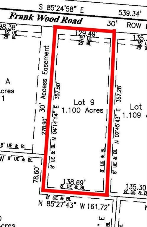 Lot 9 Frank Wood Road, Sherman, TX 76273 (MLS #14397609) :: The Heyl Group at Keller Williams