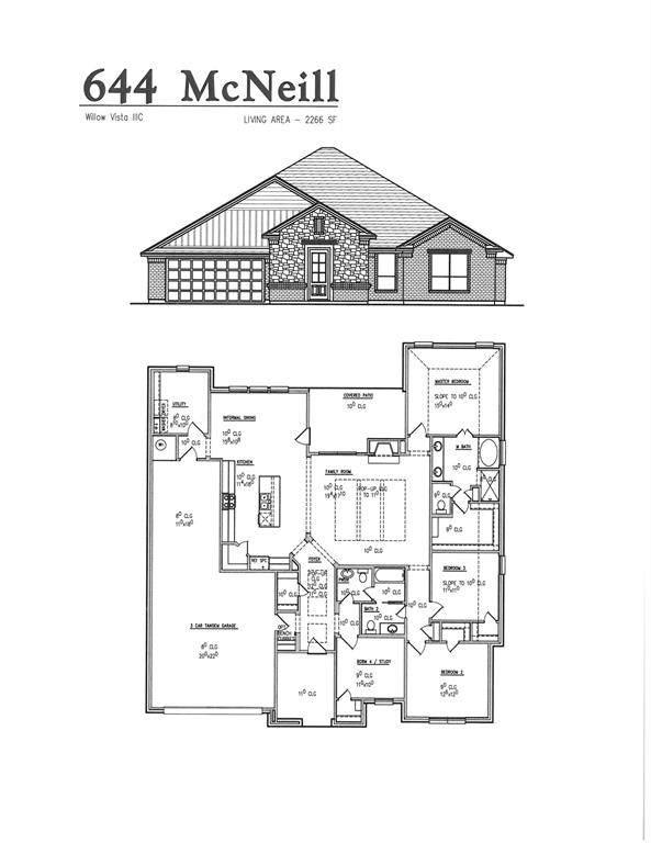 644 Mcneill Lane, Saginaw, TX 76179 (MLS #14402223) :: The Heyl Group at Keller Williams