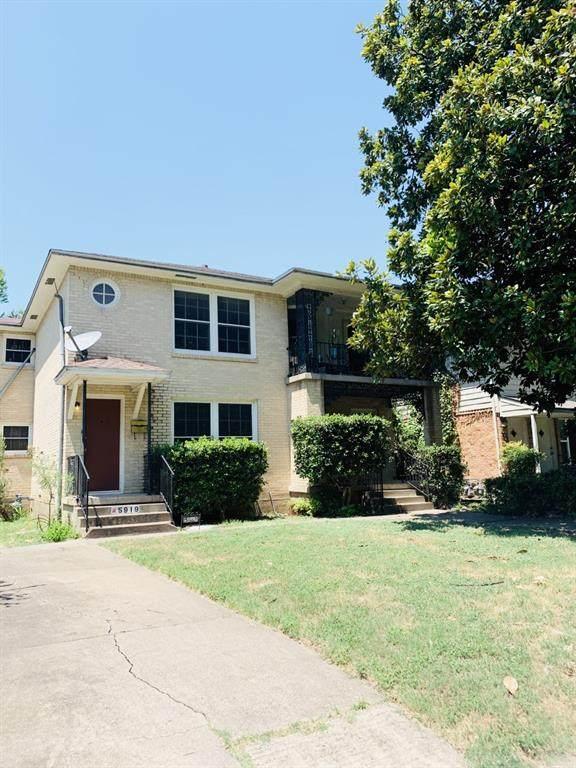 5919 Victor Street, Dallas, TX 75214 (MLS #14403877) :: The Chad Smith Team