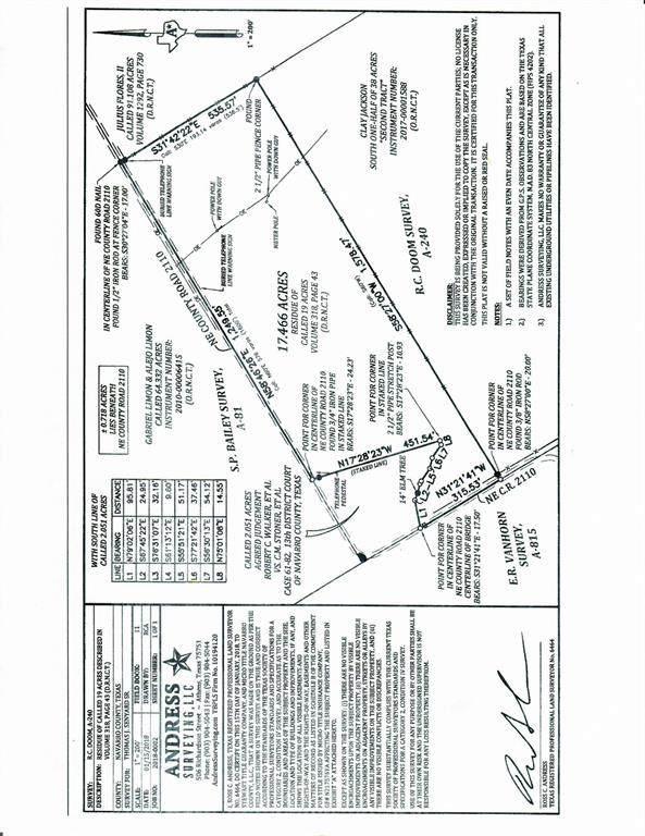 00 NE County Road 2110, Powell, TX 75153 (MLS #14405101) :: Trinity Premier Properties