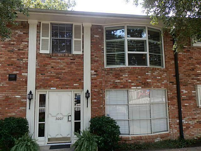 5007 Cedar Springs Road 5007F, Dallas, TX 75235 (MLS #14406448) :: The Heyl Group at Keller Williams