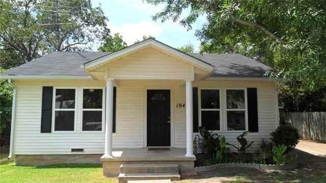 104 N Avenue I, Clifton, TX 76634 (MLS #14414711) :: Real Estate By Design