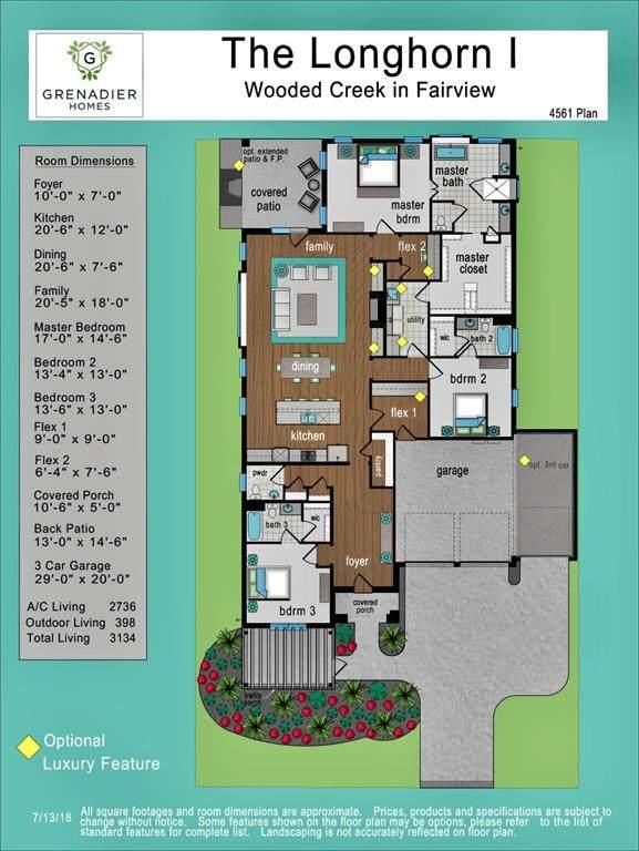 398 Lilac Lane, Fairview, TX 75069 (MLS #14422263) :: The Hornburg Real Estate Group